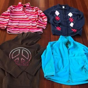Other - 4 girls sweaters/ jackets/ hoodie